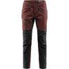 Haglöfs RUGGED FLEX PANT MEN Herr - MAROON RED/TRUE BLACK
