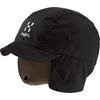 Haglöfs MOUNTAIN CAP Unisex - TRUE BLACK/DUNE