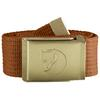 Fjällräven CANVAS BRASS BELT 3 CM. Unisex - AUTUMN LEAF