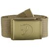 Fjällräven CANVAS BRASS BELT 3 CM. Unisex - SAND
