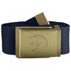 Fjällräven CANVAS BRASS BELT 3 CM. Unisex - DARK NAVY