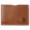 Fjällräven ÖVIK CARD HOLDER Unisex - LEATHER COGNAC