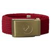 Fjällräven KIDS CANVAS BRASS BELT Barn - DEEP RED