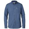 Fjällräven ÖVIK SOLID TWILL SHIRT LS Herr - UNCLE BLUE