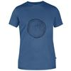 Fjällräven WOOD LOGO T-SHIRT Herr - UNCLE BLUE