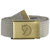 Fjällräven CANVAS BRASS BELT 3 CM. Unisex - FOG