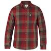 Fjällräven ÖVIK BIG CHECK SHIRT LS Herr - BURNT RED
