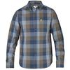 Fjällräven ÖVIK BIG CHECK SHIRT LS Herr - BLUEBERRY