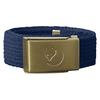 Fjällräven KIDS CANVAS BRASS BELT Barn - BLUEBERRY