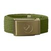 Fjällräven KIDS CANVAS BRASS BELT Barn - AVOCADO