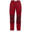 Fjällräven BARENTS PRO CURVED TROUSERS W Dam - DEEP RED