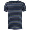 Fjällräven HIGH COAST STRIPE T-SHIRT Herr - NAVY