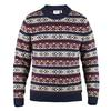 Fjällräven ÖVIK FOLK KNIT SWEATER M Herr - DARK NAVY