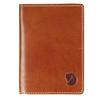 Fjällräven LEATHER PASSPORT COVER Unisex - LEATHER COGNAC