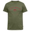 Fjällräven TREKKING EQUIPMENT T-SHIRT Herr - GREEN