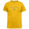 Fjällräven TREKKING EQUIPMENT T-SHIRT Herr - WARM YELLOW