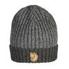 Fjällräven TWO-TONE RIB HAT Unisex - DARK GREY