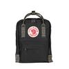 Fjällräven KÅNKEN MINI Unisex - BLACK-STRIPED