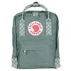 Fjällräven KÅNKEN MINI Unisex - FROST GREEN-CHESS PATTERN