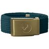 Fjällräven KIDS CANVAS BRASS BELT Barn - GLACIER GREEN