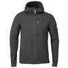 Fjällräven KEB FLEECE HOODIE M Herr - DARK GREY-BLACK