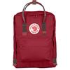 Fjällräven KÅNKEN Unisex - DEEP RED-RANDOM BLOCKED
