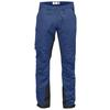 Fjällräven ABISKO LITE TREKKING TROUSERS LONG Herr - DEEP BLUE-DARK GREY