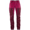 Fjällräven KEB TROUSERS CURVED W SHORT Dam - DARK GARNET-PLUM