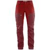 Fjällräven KEB TROUSERS CURVED W SHORT Dam - OX RED-LAVA