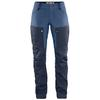 Fjällräven KEB TROUSERS CURVED W SHORT Dam - DARK NAVY-UNCLE BLUE