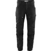 Fjällräven KEB TROUSERS W SHORT Dam - BLACK