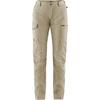 Fjällräven TRAVELLERS MT TROUSERS W Dam - LIGHT BEIGE