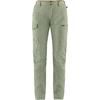 Fjällräven TRAVELLERS MT TROUSERS W Dam - SAGE GREEN