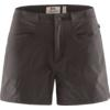Fjällräven HIGH COAST LITE SHORTS W Dam - DARK GREY