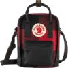 Fjällräven KÅNKEN RE-WOOL SLING Unisex - RED-BLACK