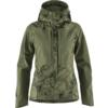 Fjällräven KEB JACKET W Dam - GREEN CAMO-LAUREL GREEN