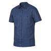 Tierra KAIPARO HEMP SHORT SLEEVE SHIRT M Herr - NIGHT BLUE