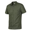 Tierra KAIPARO HEMP SHORT SLEEVE SHIRT M Herr - HERBAL GREEN