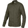 Tierra KAIPARO HEMP SHIRT M Herr - OLIVE NIGHT