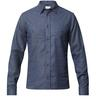 Tierra KAIPARO HEMP SHIRT M Herr - ECLIPSE BLUE