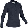 Tierra KAIPARO HEMP SHIRT W Dam - ECLIPSE BLUE