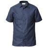 Tierra KAIPARO HEMP SHORT SLEEVE SHIRT M Herr - ECLIPSE BLUE