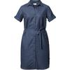 Tierra KAIPARO HEMP DRESS W Dam - ECLIPSE BLUE