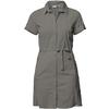 Tierra CORRESPONDENT DRESS W Dam - BELUGA GREY