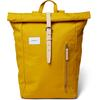 Sandqvist DANTE - YELLOW WITH NATURAL LEATHER