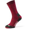 Alpacasocks ALPACASOCKS 3-P Unisex - DEEP RED/PINE GREEN