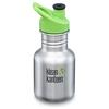Klean Kanteen KID CLASSIC 355ML (W/KID SPORT CAP) Barn - BRUSHED STAINLESS