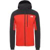 The North Face M SUMMIT L3 VENTRIX VRT HOODIE Herr - FIERY RED/TNF BLACK
