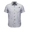 Black Diamond M SS SOLUTION SHIRT Herr - ECLIPSE-WHITE
