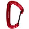 Black Diamond LITEWIRE CARABINER Unisex - RED